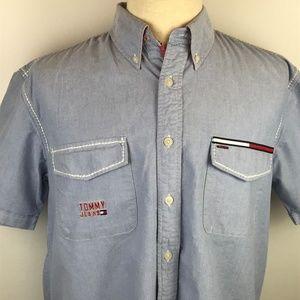 Vintage Tommy Hilfiger Jeans Short Sleeve Shirt